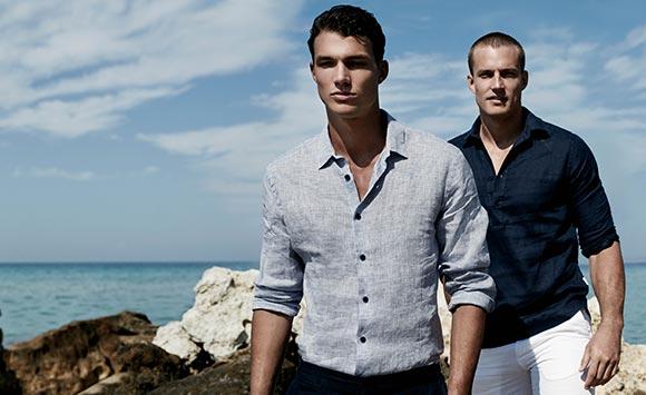 mens linen pants & linen shirts for men