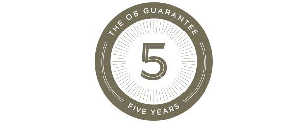 The OB 5 Year Guarantee