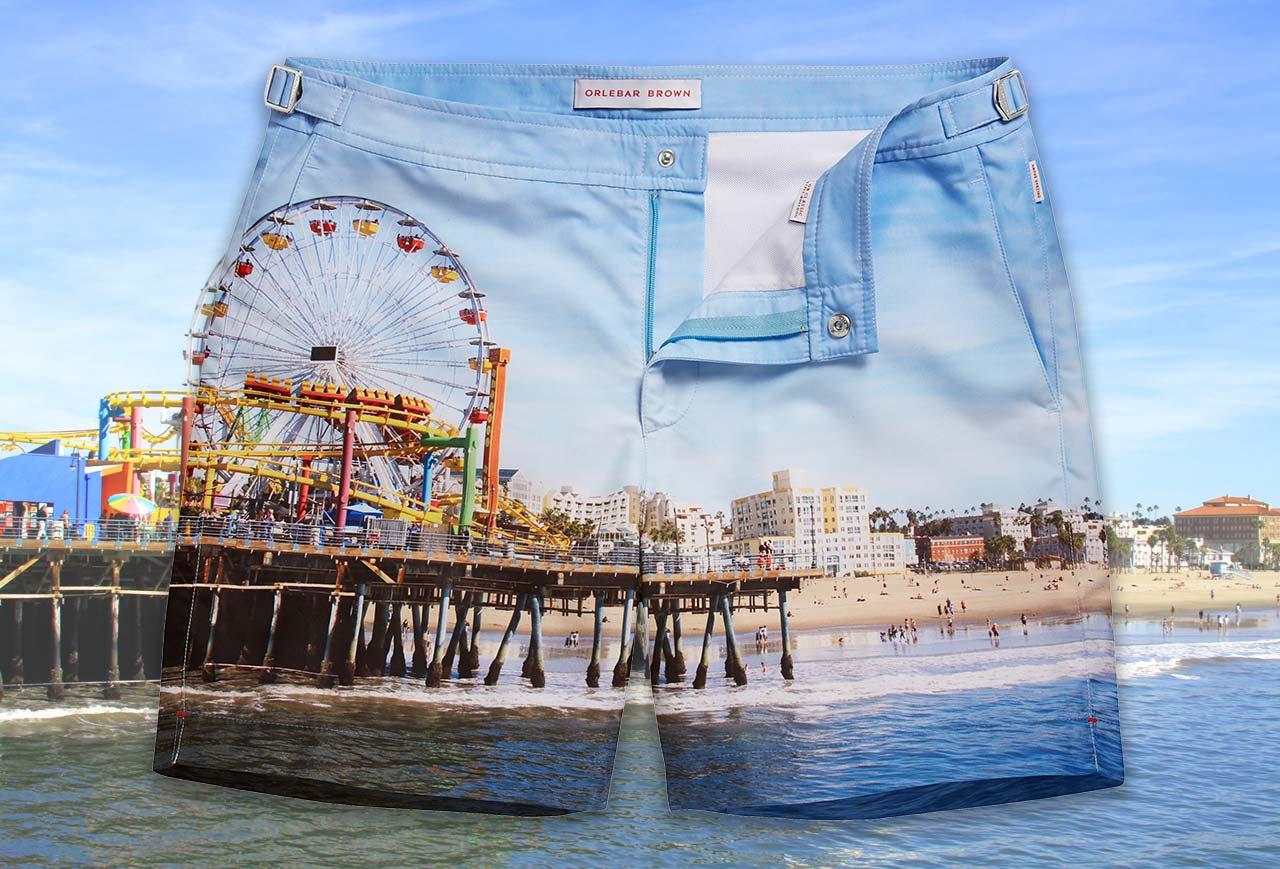 Orlebar Brown + Santa Monica