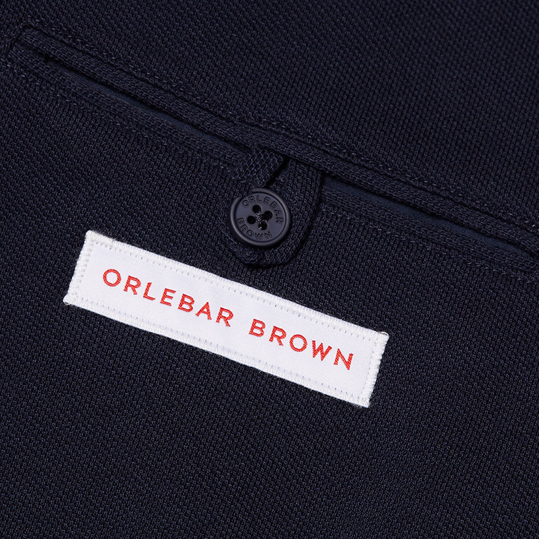 Orlebar Brown Edgar Pique NAVY