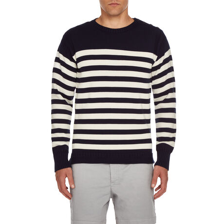 Orlebar Brown Peele Stripe NAVY/CLOUD