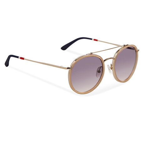Orlebar Brown Aviator Sunglasses PEACH/LG/BLUE GRAD/NA