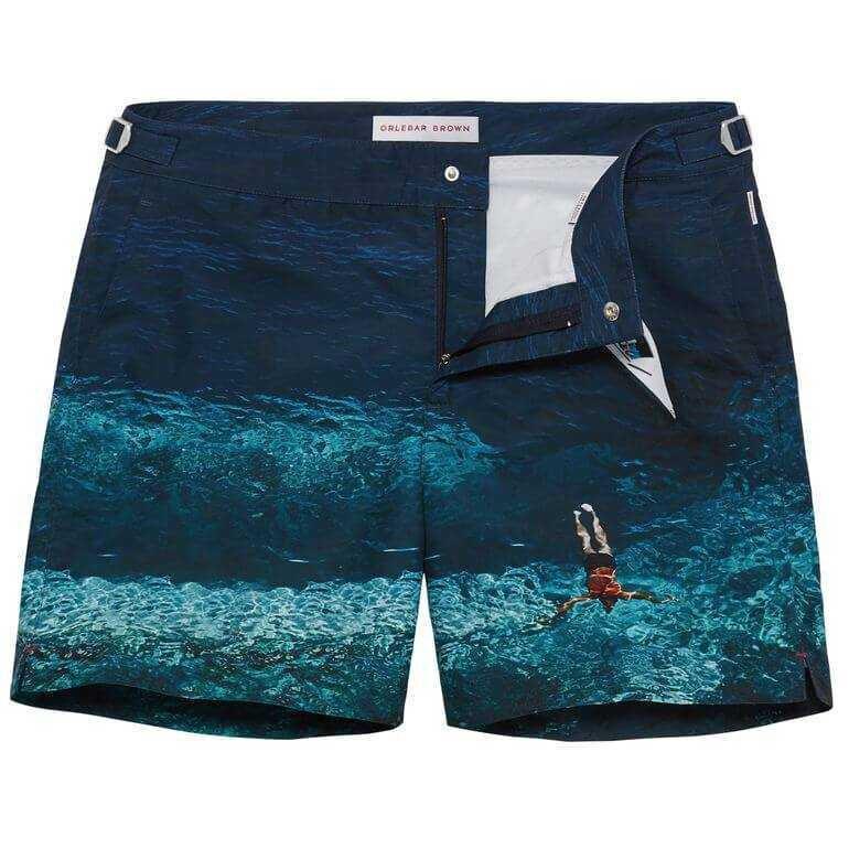 Sale Clearance Store Cheap Sale Wiki Deep Sea Mid-Length Swim Shorts Orlebar Brown mxC2A