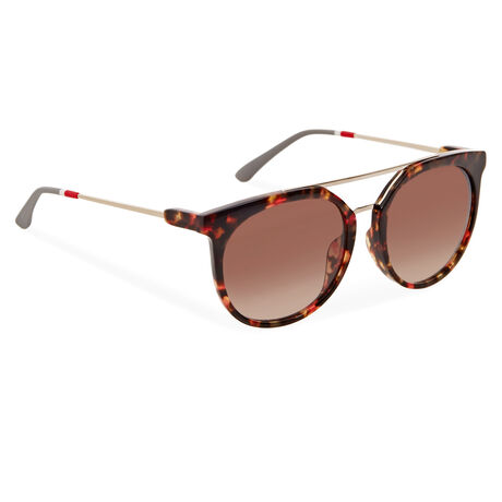 Orlebar Brown Aviator Sunglasses MIXED T-SHELL/LT GOLD/GREY/BROWN GRAD