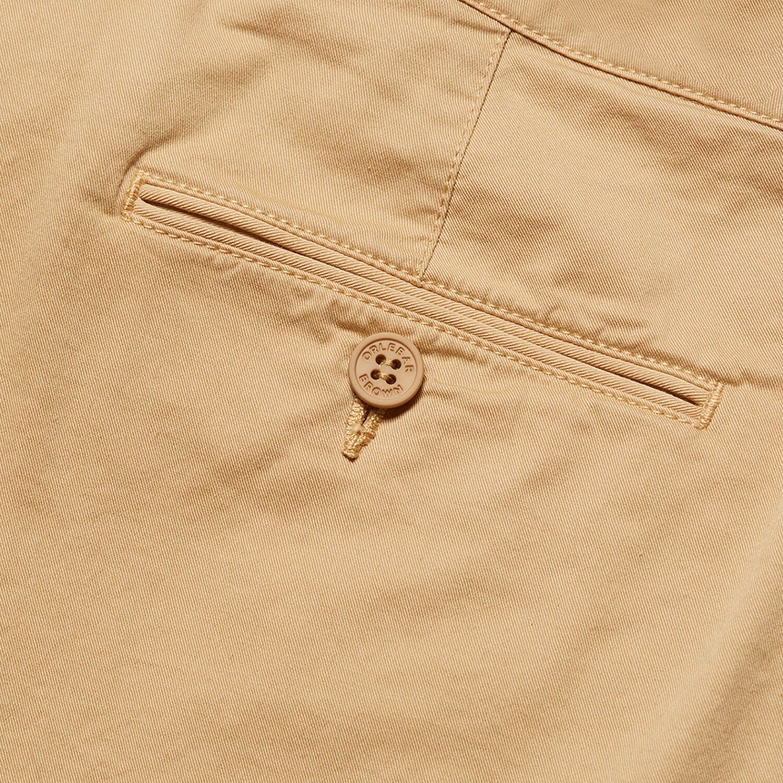 Orlebar Brown Bulldog Cotton Twill BIRCH