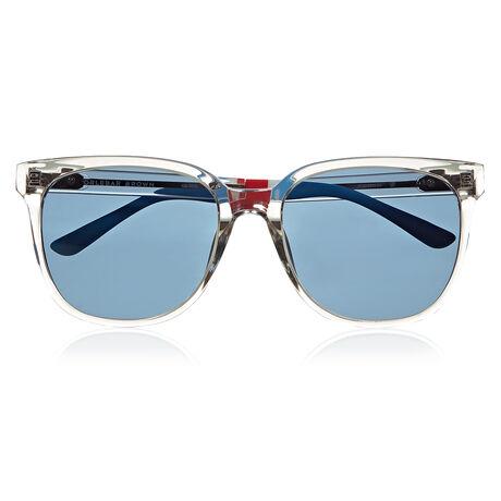 Orlebar Brown D-Frame Sunglasses CLEAR/SI/BLUE/RI