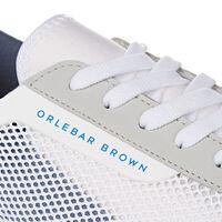 Orlebar Brown Larson WHITE/SHADOW GREY