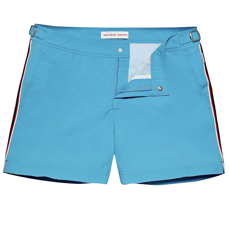Orlebar Brown Setter BAHAMA BLUE/WHITE