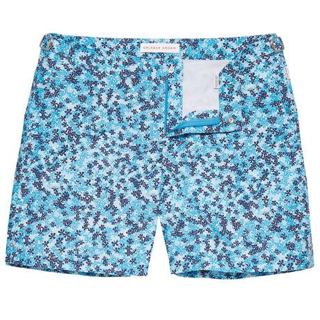 Orlebar Brown Bulldog BAHAMA BLUE/NAVY/WHITE
