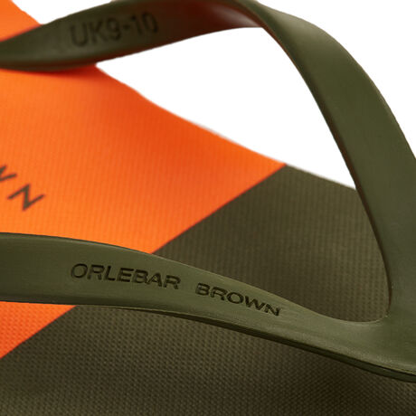 Orlebar Brown Haston MILITARY GREEN/HAZARD