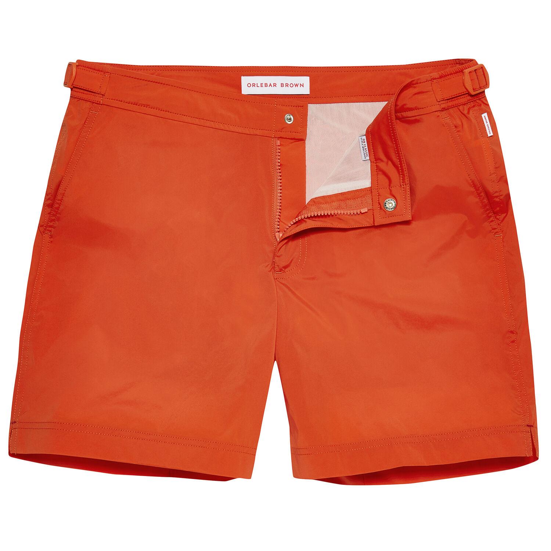 c7dc8d98b6 Bulldog Sport - Flame Mid-Length Swim Shorts | Orlebar Brown