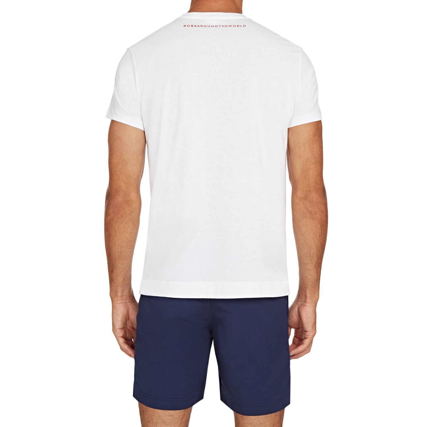Orlebar Brown Slogan Tee OUT OF OFFICE
