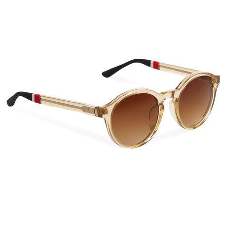 Orlebar Brown Round Sunglasses APRICOT/L GOLD/BLACK/BROWN