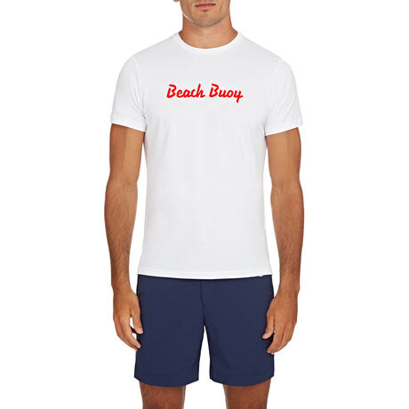 Orlebar Brown Slogan Tee BEACH BUOY