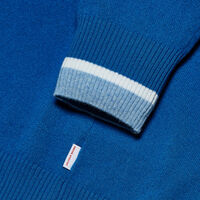 Orlebar Brown Ethan Cashmere BUTTERFLY BLUE/WHITE