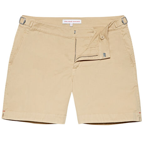 Orlebar Brown Bulldog Cotton Twill STONE