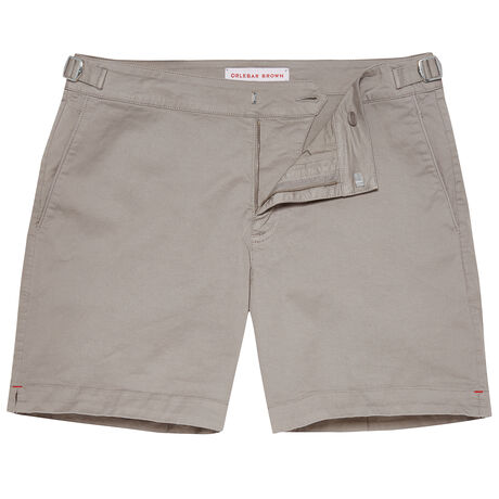 Orlebar Brown Bulldog Cotton Twill PEWTER