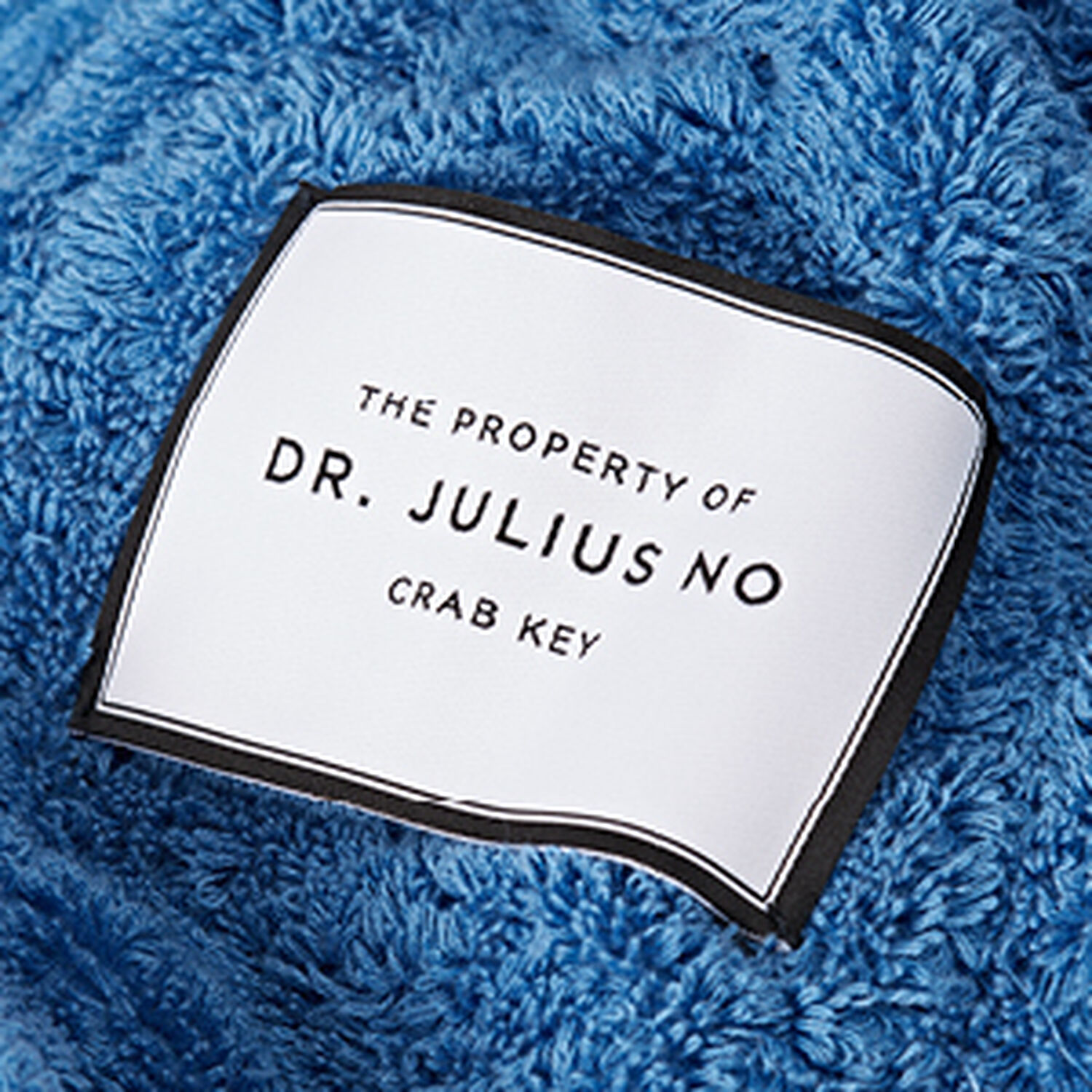 Dr No Towelling Robe