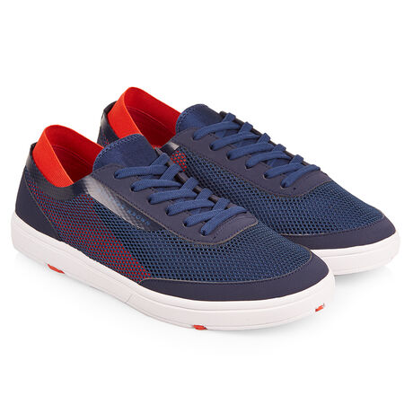 Orlebar Brown Larson NAVY/RED