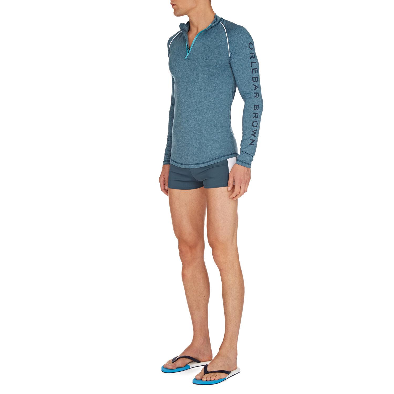 Orlebar Brown Basset Sport STEEL BLUE