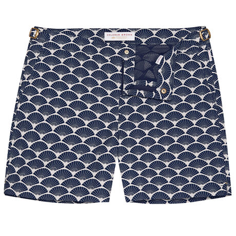 Orlebar Brown Bulldog FAN NAVY/WHITE