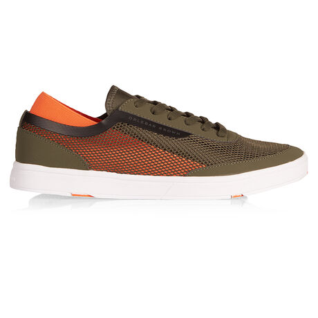 Orlebar Brown Larson MILITARY GREEN/HAZARD ORANGE