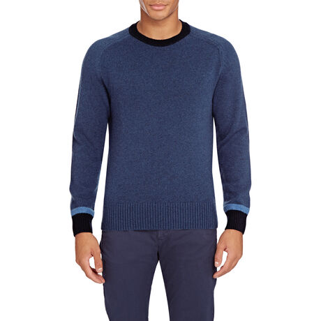 Orlebar Brown Ethan Cashmere AIRFORCE BLUE