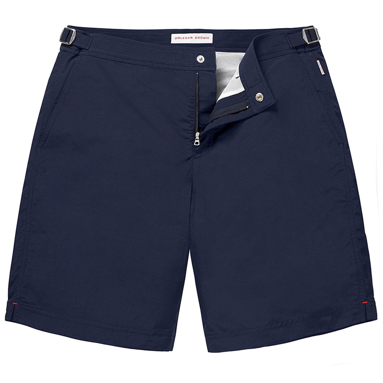 4b6ee19c1a Dane II - Navy Long-Length Swim Shorts   Orlebar Brown