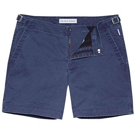 Orlebar Brown Buckley WASHED NAVY/SEA BREEZE