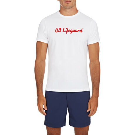 Orlebar Brown SLOGAN TEE OB LIFEGUARD