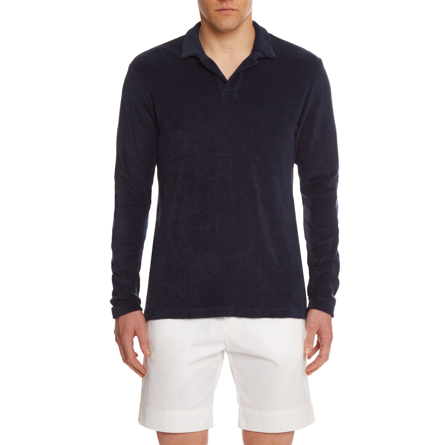 Orlebar Brown TERRY TOWELLING NAVY
