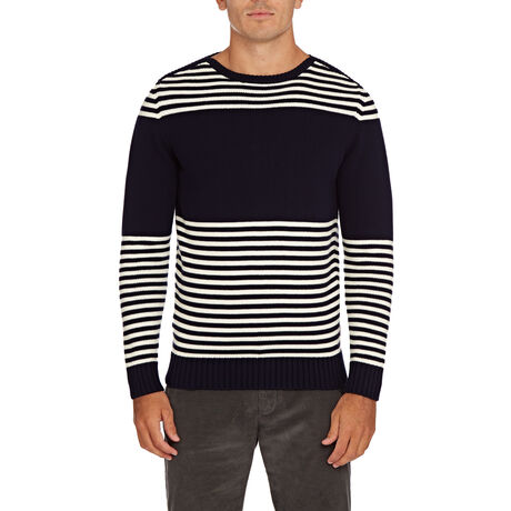 Orlebar Brown Barnes Stripe NAVY/CLOUD