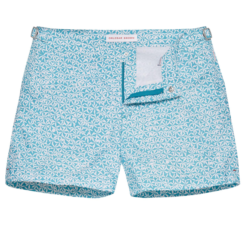 Scuba Blue Setter Men S Swimwear Orlebar Brown Uk