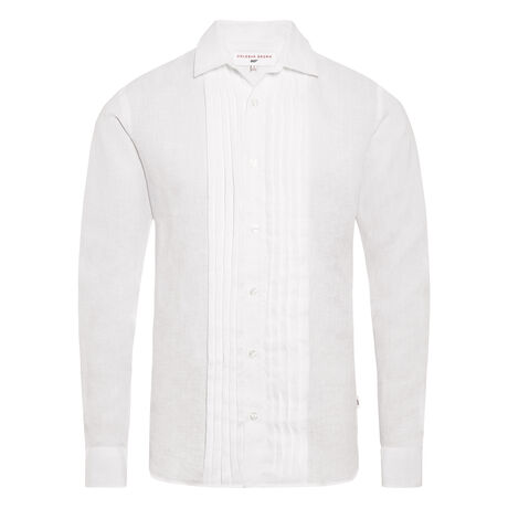Orlebar Brown Bond Dress Shirt WHITE