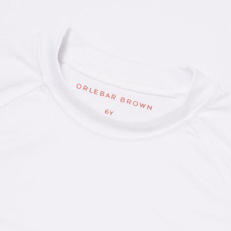 Orlebar Brown OLLIE WHITE/RED