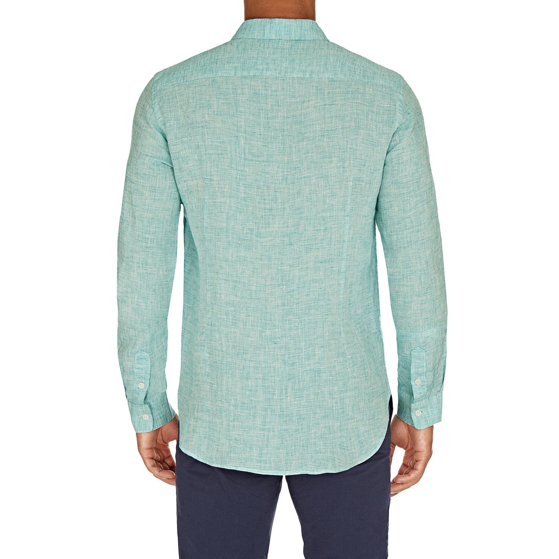 Orlebar Brown Morton Linen SCUBA BLUE