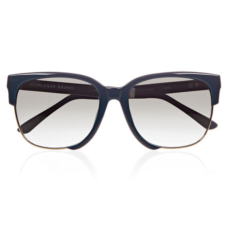 Orlebar Brown D-Frame Sunglasses NAVY/NAVY/L GD/MOSS GRAD