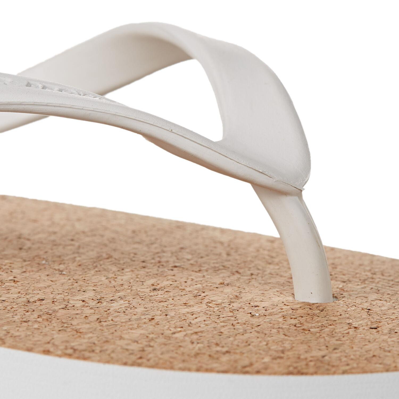 new style 03ad5 32527 Haston Cork - Kork-Flip-Flops Weiss | Orlebar Brown