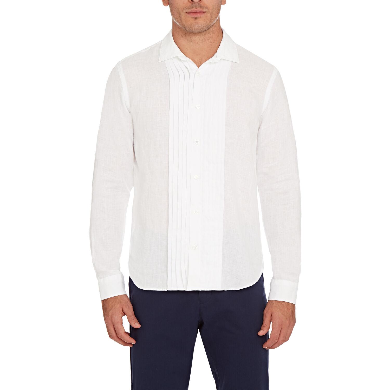 Orlebar Brown Bond Dress Shirt WHITE