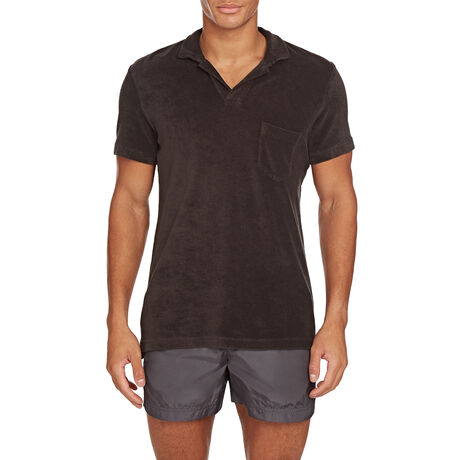 Orlebar Brown Terry Towelling ESPRESSO