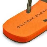 Orlebar Brown Haston MILITARY GREEN/HAZARD