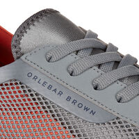 Orlebar Brown Larson PEWTER/HOT CORAL
