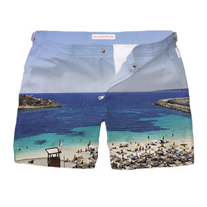 Orlebar Brown Design Your Own Swimshorts #Snapshorts by Edward Lloyd-Davis
