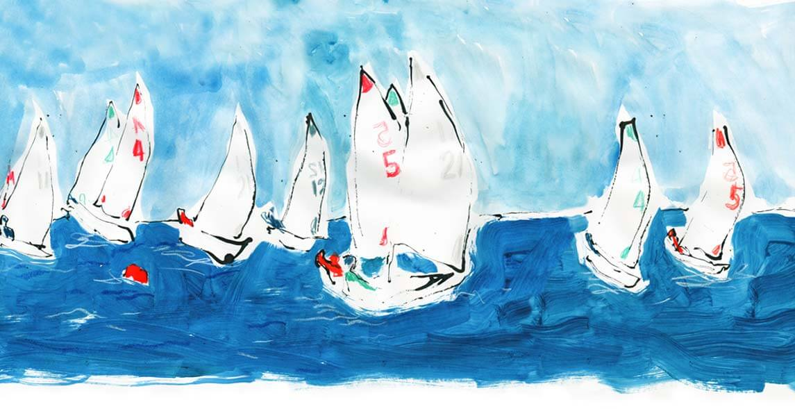 Orlebar Brown + Richard Haines Sail On