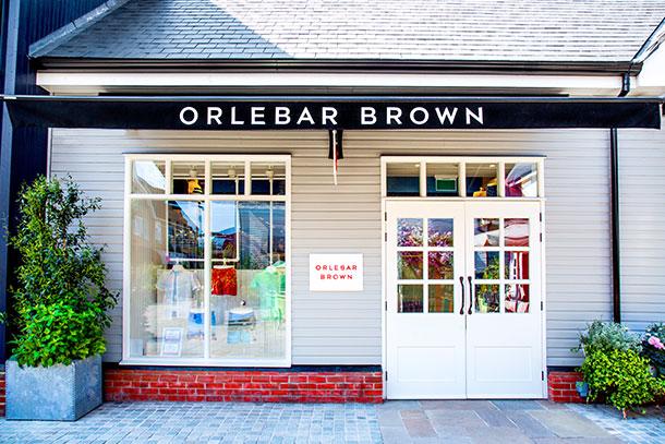 Orlebar Brown Bicester Village Store in Oxfordshire.