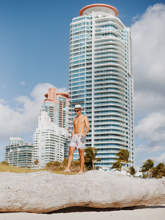My Weekend in Miami with Orlebar Brown by Jordan Braun