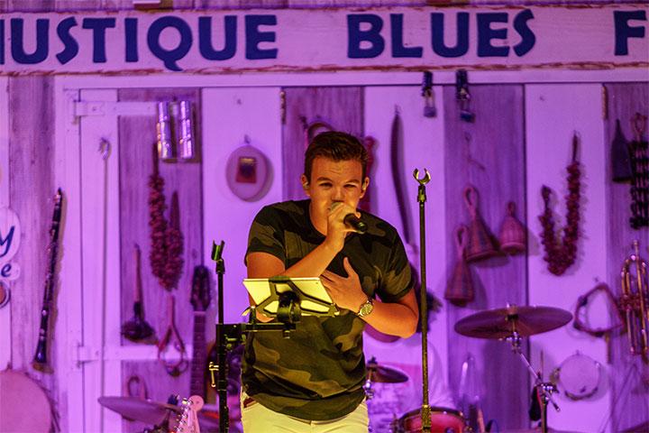 Orlebar Brown - Live Sunset Jazz at Basils Bar