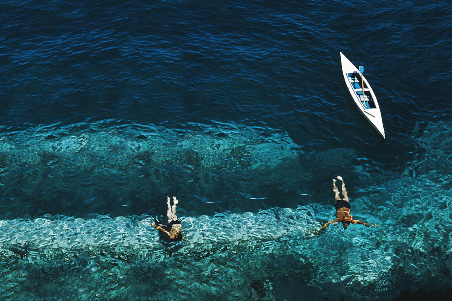 Deep Sea photo by Slim Aarons