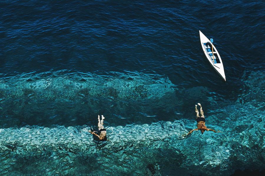 Deep Sea Foto von Slim Aarons