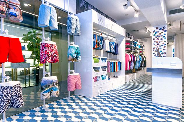 Orlebar Brown Brisbane Store in Australia.